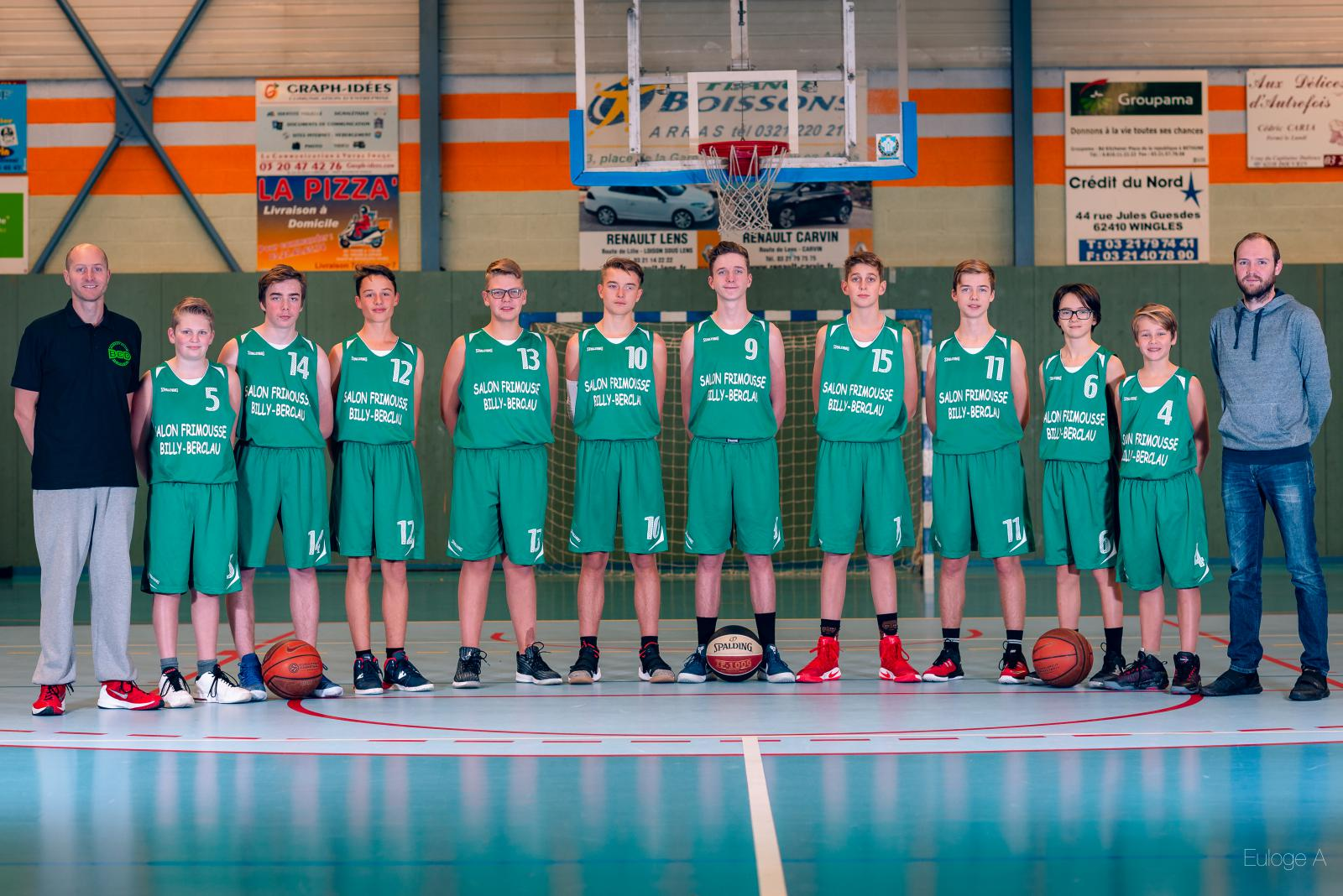 U15 G - Basket Club Douvrin