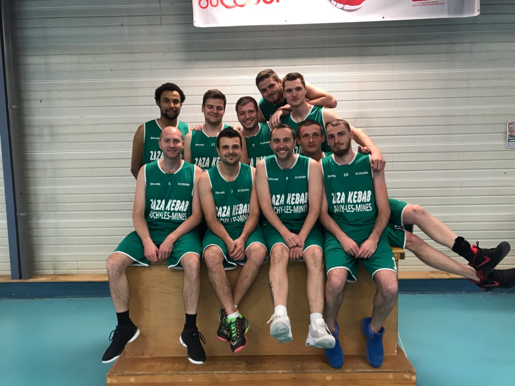 SENIORS G 1 - Basket Club Douvrin