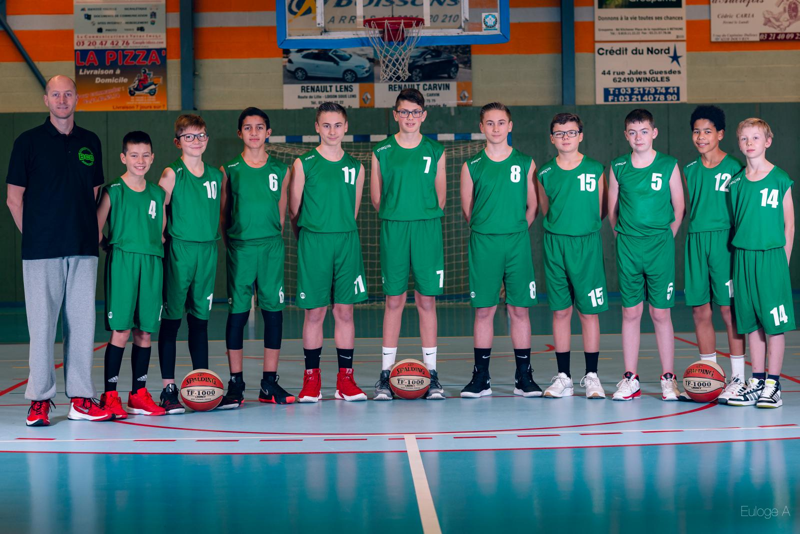 U13 G - Basket Club Douvrin